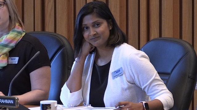 TVDSB Trustee Corinne Rahman