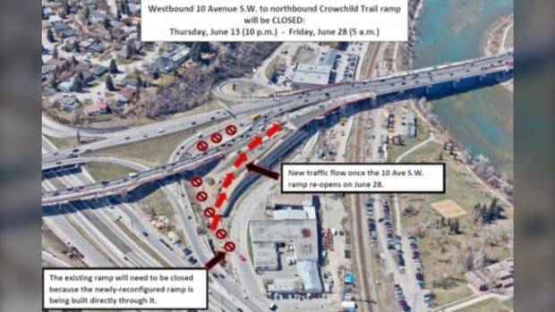 Crowchild Trail upgrades