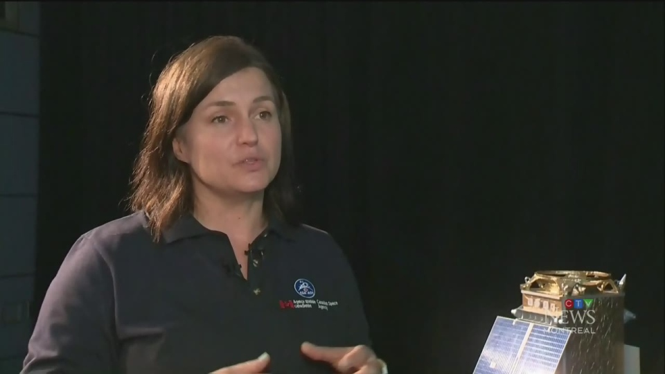 Magdalena Wierus is a Project Engineer at the Canadian Space Agency