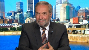 CTV News political analyst Tom Mulcair
