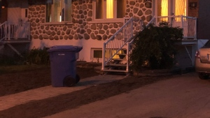 A child was found unconscious in a hot tub in Longueuil.