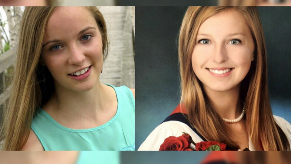 Bailey Chitty (left) and Lauren Tilley (right) are seen in these undated images. The two Canadians were rescued this on June 12 after being abducted in Ghana.