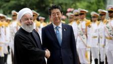 japan iran leaders