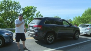 A driver wanted to know why police were ignoring cyclists going through red lights on Mount Royal