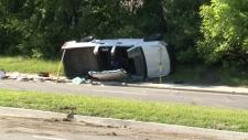 SIU investigating rollover on Vanier Parkway