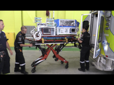 Specially-equipped ambulances