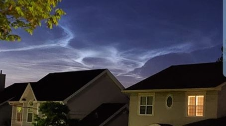 noctiluscent clouds
