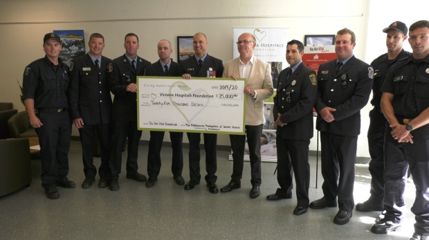 Professional Firefighters of Greater Victoria Comm