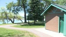 Police are investigating after a man allegedly sexually assaulted a young boy at Henderson Lake in Lethbridge.