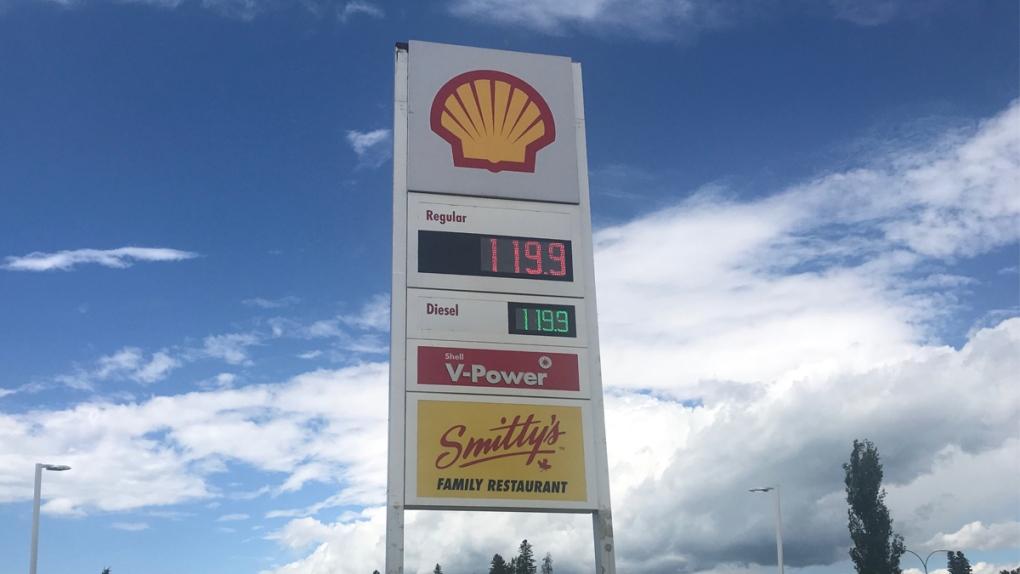 Edson gas prices