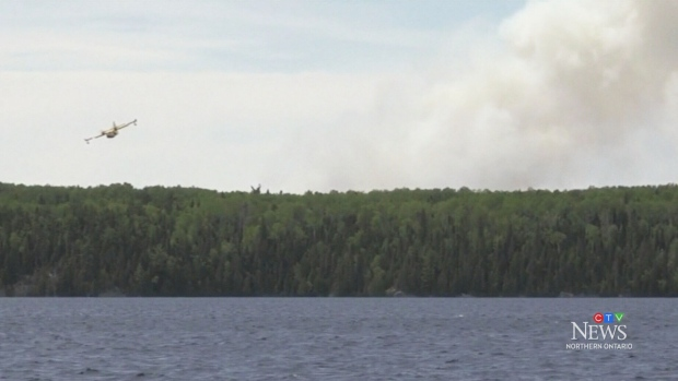 Forest fire concerns