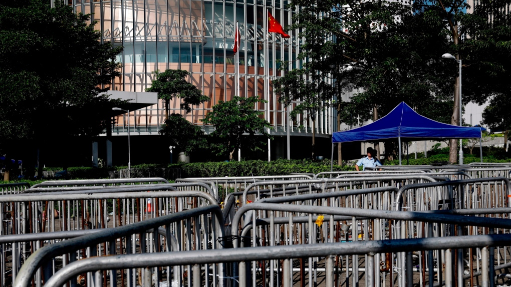 Hong Kong quiet now, but prospect of new protest looms large