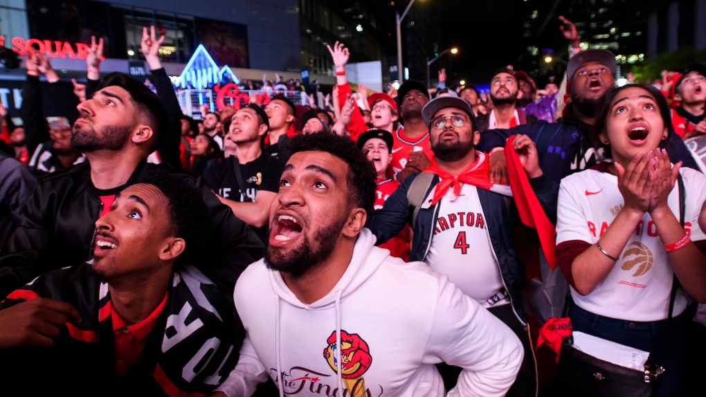 'What a time to be alive': Social media erupts after historic Raptors win