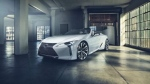 Lexus LC convertible concept. (Lexus / AFP)