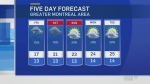 forecast montreal june 14