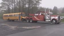 school bus collision