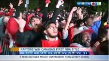 Headlines: Raptors historic NBA win