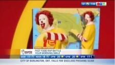 Fast food rap battle