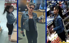 London police release photos of a woman wanted in connection with alleged fraudulent use of debit card. (Source: London Police Services)