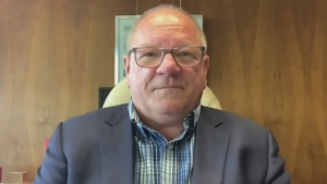 Greater Sudbury Mayor Brian Bigger met with the Sudbury media Tuesday afternoon, moments after an hour-long meeting with several groups to talk about what can be done to improve safety in downtown Sudbury. (File)