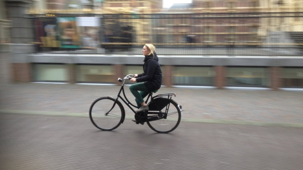 Dutch commuter bicycle