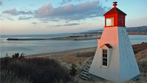 Margaree Harbour Front Range lighthouse
