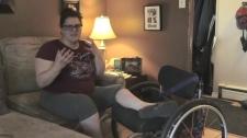 Sudbury Raptors fan encounters accessibility issue
