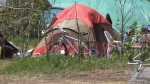Tent city raises concerns in Moncton