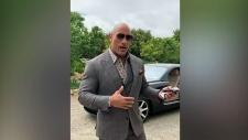 CTV Windsor: The Rock sends love