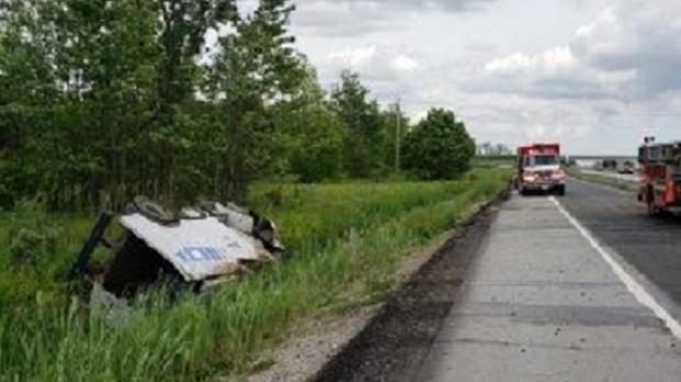 Armoured Truck Crash