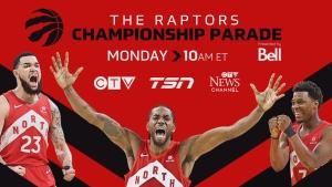 Raptors championship parade