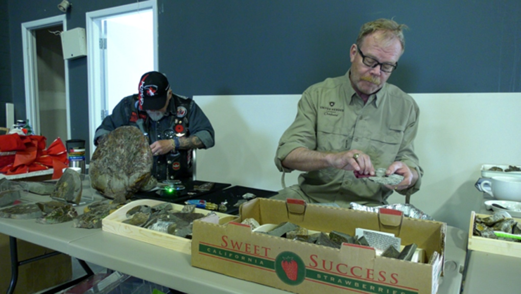 Garage sale serves as rallying point for veterans community
