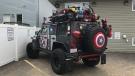 Dr. Jon Adamis's 'Avengers' Jeep is seen in Edmonton on Friday, June 14, 2019.