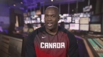 Canadian national team player and sports analyst Dwight Walton