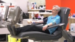 Canadian Blood Services is asking Albertans to book and keep appointments in the coming weeks. (File photo)
