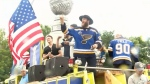 Stanley Cup parade celebrating the St. Louis Blues