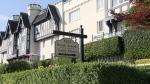 The violent burglary happened at Tudor Manor on Beach Avenue near Jervis Street.