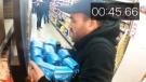 Extended: Alberta man grabs groceries in prize spr