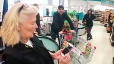 calgary food bank bragg creek shopping spree