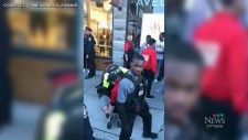 Police deploy pepper spray make arrest at Glowfair