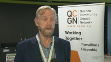 QCGN President Geoffrey Chambers has clashed with the CAQ government
