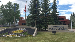 A member of the Lethbridge Police Service was hurt during a training exercise Tuesday morning. (File)