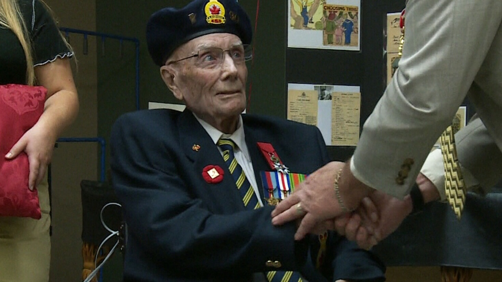 Manitoba Second World War veteran turns 100, receives France's highest honour