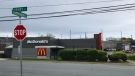 Halifax police have arrested four people after a woman was stabbed in the parking lot of the McDonalds on Kempt Rd. early Sunday morning.
