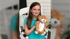 Ella Casano is seen in this photo posted to the Medi Teddy Instagram account on Saturday, June 15, 2019. (Instagram)