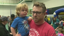Fathers are celebrated in Windsor