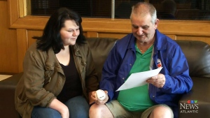 While it was expected to be a bittersweet Father's Day for Sydney's Glen and Natasha McGean, the father and daughter say the generosity of others has given them the best gift they could ask for.