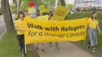 The sixth annual Walk with Refugees for a Stronger Canada saw hundreds come out to step in solidarity with refugees and share their stories.
