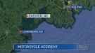 N.S. RCMP say a 56-year-old man has died as a result of a motorcycle crash in Chester, N.S. on Saturday night.
