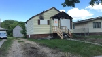 Police have been called in after a house fire on June 16, 2019. (Sean McClune/CTV Edmonton)